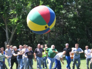 Boys Big Ball Activity