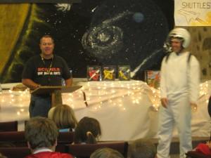 Spaceman Spiff helps teach valuable lessons