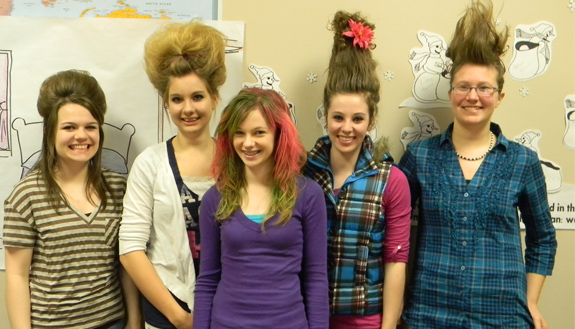 Crazy hair day at NPCA