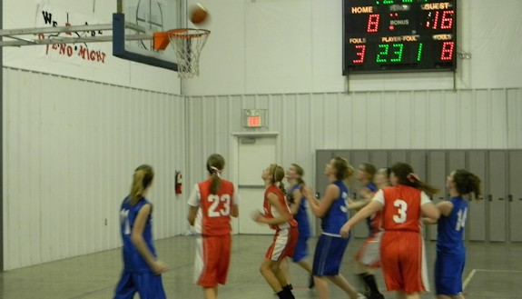 NPCA Girls Basketball