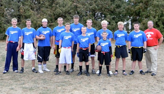 NPCA Boys Flag Football Team